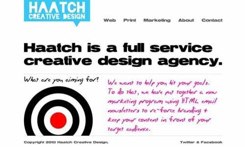 12个单页网站设计制作的优秀实例