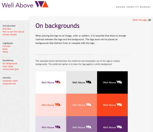 网站设计风格指南