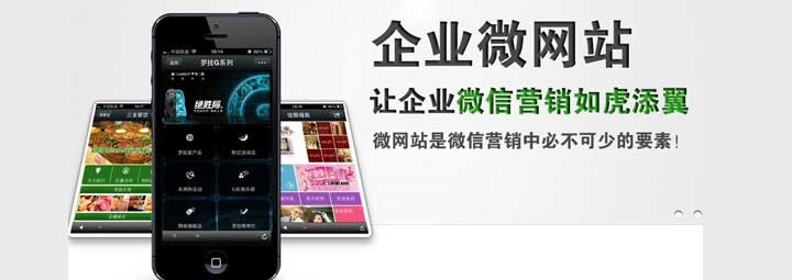 深圳微网站建设