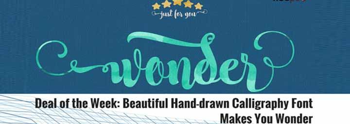 漂亮的手绘书法字体